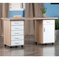 Winsome Wood 18350 Kenner 3pc Set Modular Desk