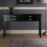 Winsome Wood 20450 Timber Hall/Console Table, drawers