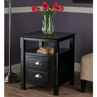 Winsome Wood 20920 Timber Night Stand Accent Table