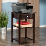 Winsome Wood 23121 Burke Printer Stand Coffee Finish