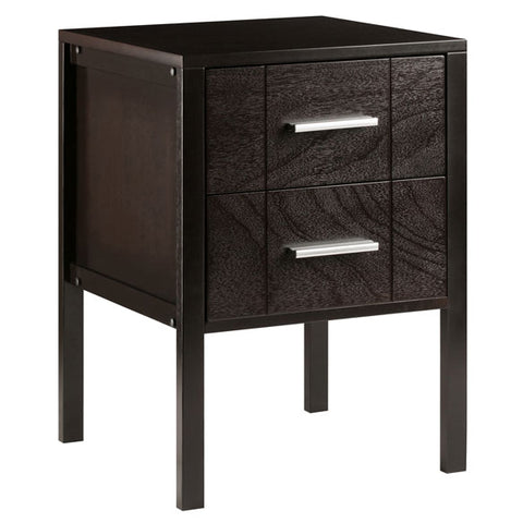 Winsome Wood 23215 Brielle Accent Table Coffee Finish