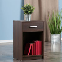 Winsome Wood 30115 Rennick Accent Table Cocoa Finish