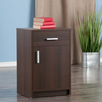 Winsome Wood 30317 Astra Accent Table Cocoa Finish