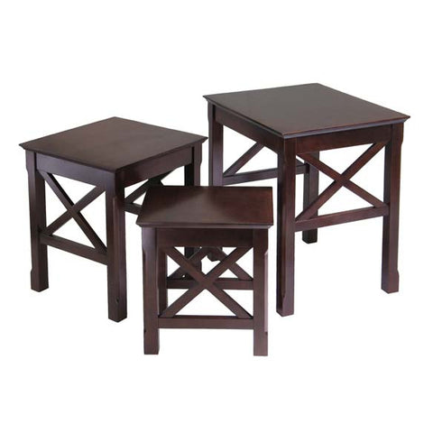 Winsome Wood 40333 Xola 3pc Nesting Table