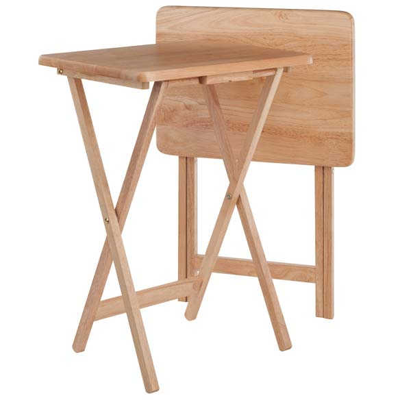 Winsome Wood 42290 Alex 2-pc Snack Table Set