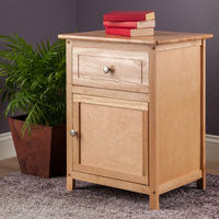 Winsome Wood 81115 Eugene Accent Table Natural