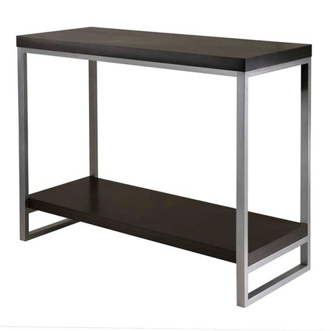 Winsome Wood 93441 Jared End Table, Enamel Steel Tube