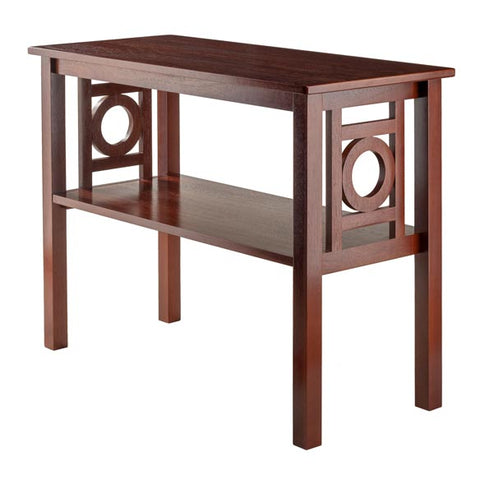 Winsome Wood 94041 Ollie Console Table Walnut
