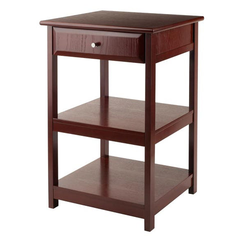 Winsome Wood 94121 Delta Printer Table Walnut
