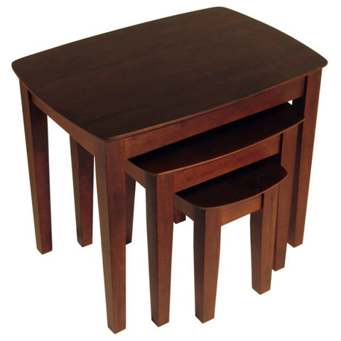Winsome Wood 94327 Bradley 3-PC Nesting Table Set