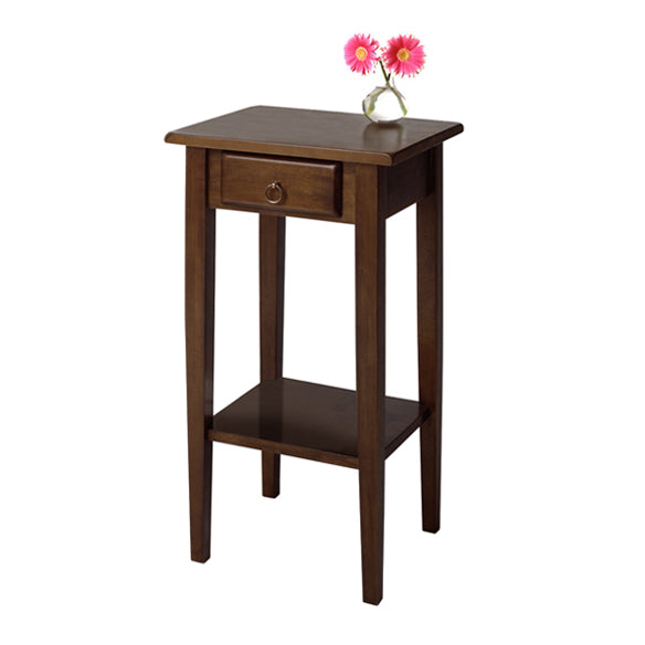 Winsome Wood 94430 Regalia Accent Table with drawer, shelf