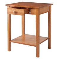 Winsome Wood 99323 Studio End / Printer Table