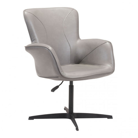 ZUO Modern Alain 101150 Arm Chair Gray - Pankour