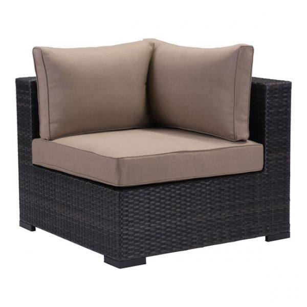 ZUO Modern Bocagrande 701623 Corner Chair Brown - Pankour