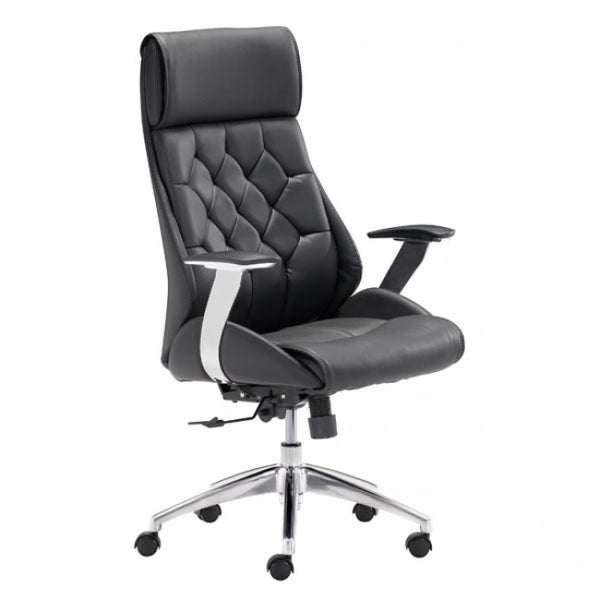 ZUO Modern Boutique 205890 Office Chair Black - Pankour