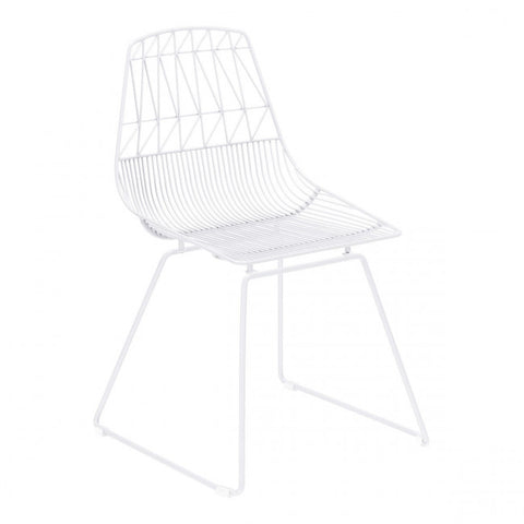 ZUO Modern Brody 101021 Dining Chair White - Pankour