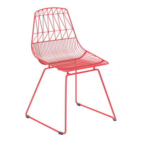 ZUO Modern Brody 101022 Dining Chair Red - Pankour
