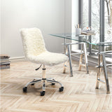 ZUO Modern Coco 100813 Office Chair Ivory - Pankour