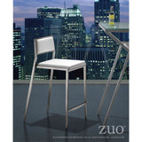 ZUO Modern Dolemite 300189 Counter Chair White - Pankour