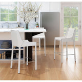 ZUO Modern Fashion 100647 Counter Chair White - Pankour