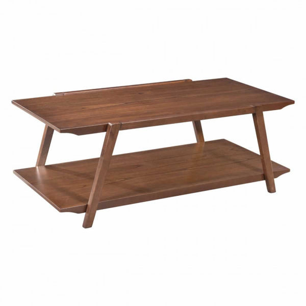 ZUO Modern Graham 101060 Coffee Table Walnut - Pankour