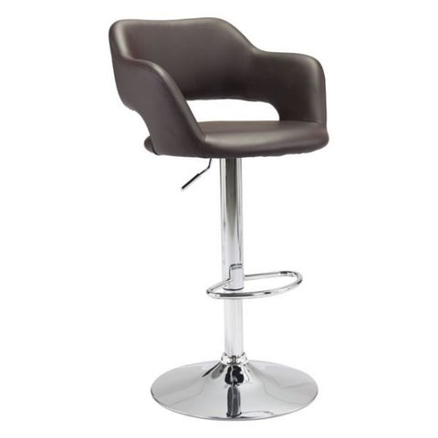 ZUO Modern Hysteria 100615 Bar Chair Espresso