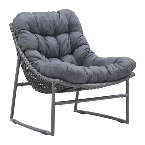 ZUO Modern Ingonish 703529 Beach Chair Gray