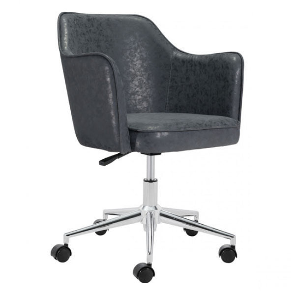 ZUO Modern Keen 100771 Office Chair Vintage Black