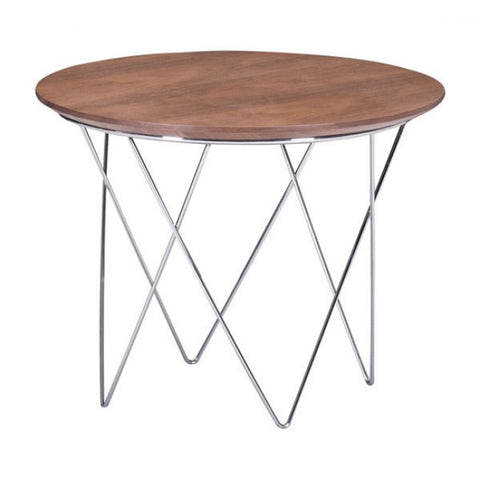 ZUO Modern Macho 404069 Side Table Walnut