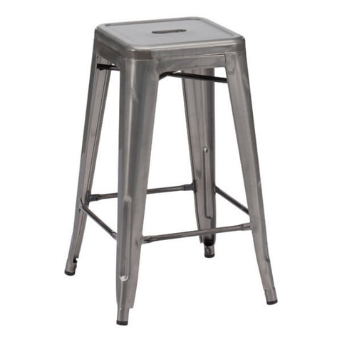 ZUO Modern Marius 106114 Counter Stool Gunmetal