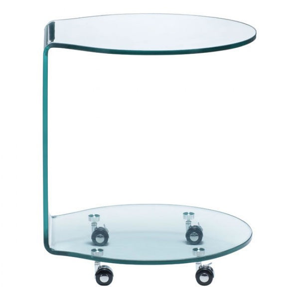 ZUO Modern Mission 404112 Side Table Clear Glass