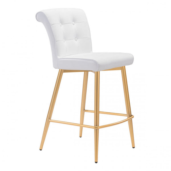 ZUO Modern Niles 101143 Counter Chair White