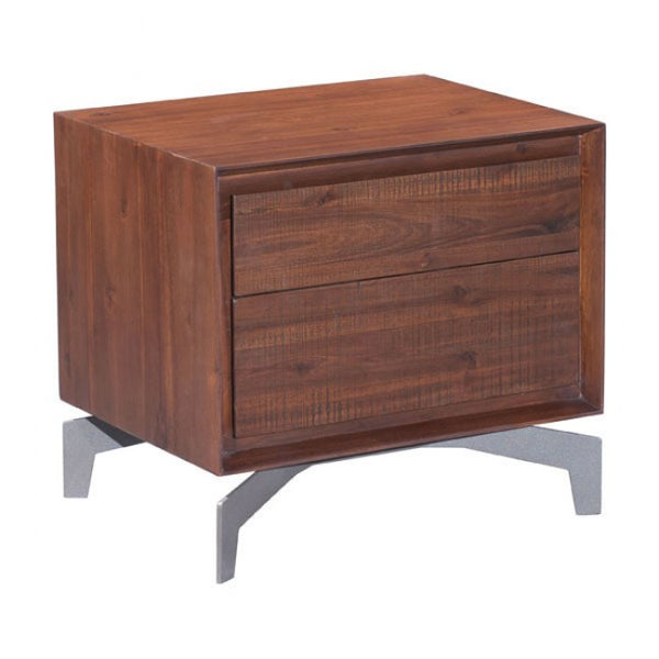 ZUO Modern Perth 100585 End Table Chestnut - Pankour