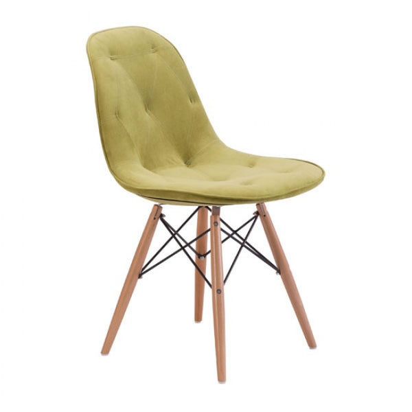 ZUO Modern Probability 104156 Dining Chair Green