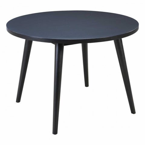 ZUO Modern Raven 100965 Round Dining Table Black