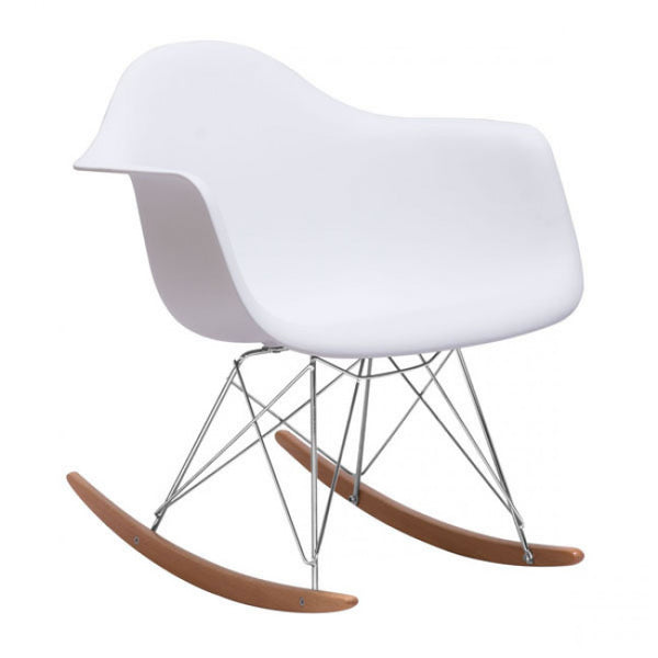 ZUO Modern Rocket 110020 Occasional Chair White