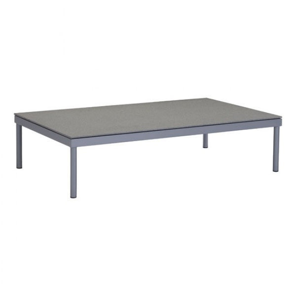 ZUO Modern Sand Beach 703578 Coffee Table Gray & Granite