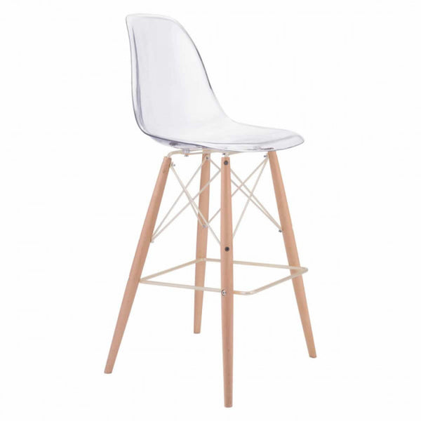 ZUO Modern Shadow 100261 Bar Chair
