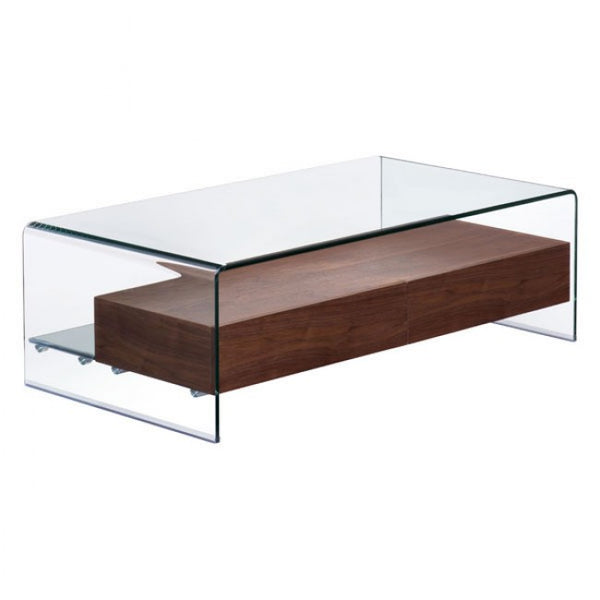 ZUO Modern Shaman 404066 Coffee Table Walnut