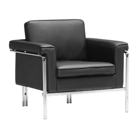 ZUO Modern Singular 900160 Arm Chair Black
