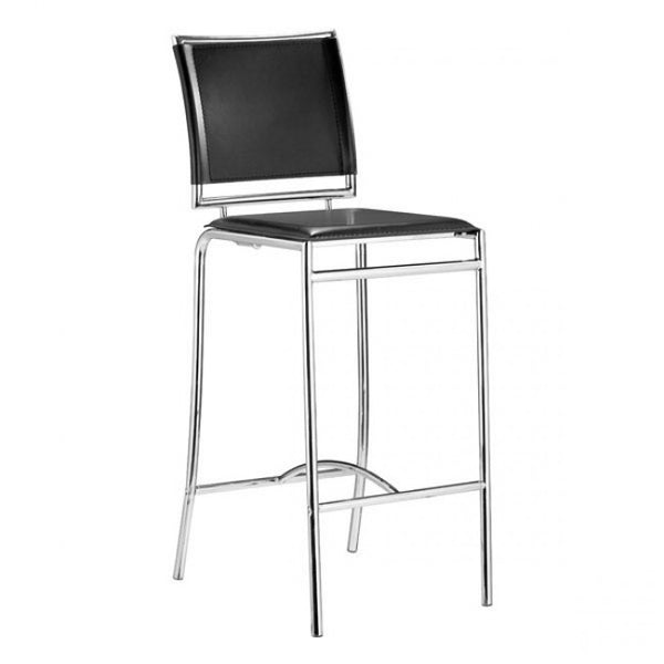 ZUO Modern Soar 300150 Bar Chair Black