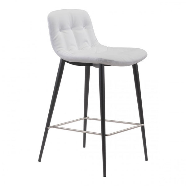 ZUO Modern Tangiers 101085 Counter Chair White