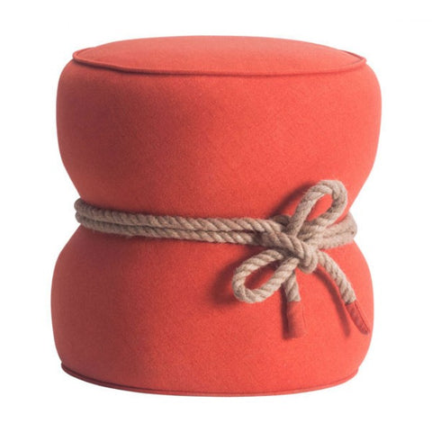 ZUO Modern Tubby 13019 Ottoman Orange