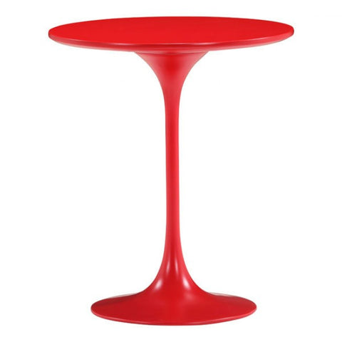 ZUO Modern Wilco 401143 Side Table Red