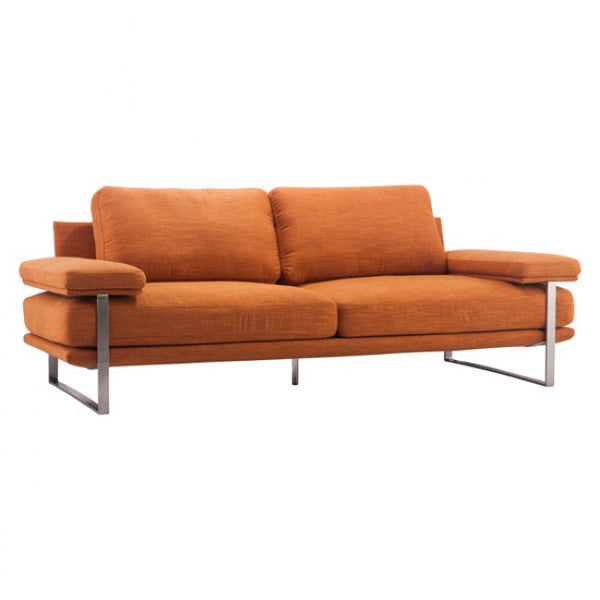Zuo Modern Jonkoping 900625 Sofa Orange - Pankour