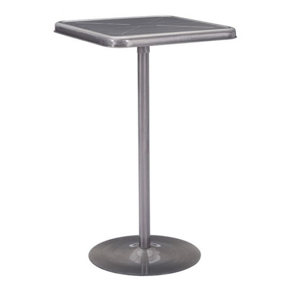 Zuo Modern Mallus 109129 Bar Table Gunmetal