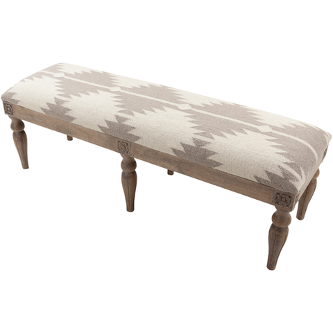 Surya Surya Furniture 59 x 18 x 19 Bench FL-1175 Bench - Pankour