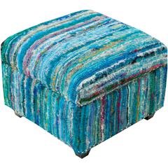Surya Saturday Night 20 x 20 x 14 Ottoman SFL-3001 Ottoman - Pankour