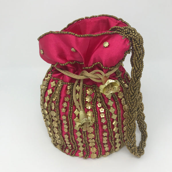 Indian Embellished Pouch
