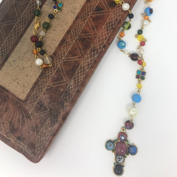 Multicolored Beaded Rosary